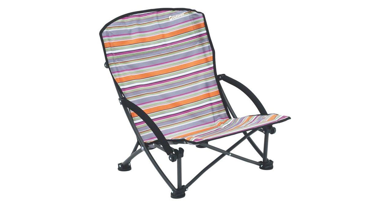 """Кресло складное Outwell """"Azul Summer"""", цвет: серый, 56 х 53 х 68 см"""