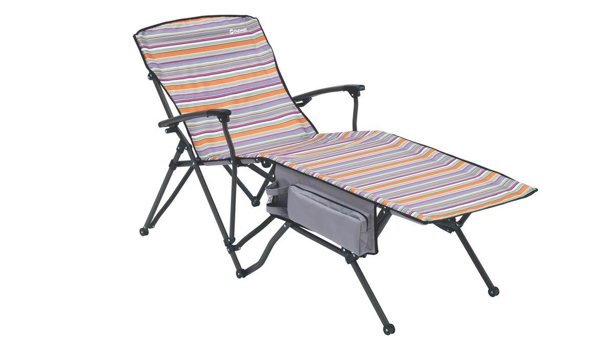 """Шезлонг Outwell """"Merlo Summer"""", цвет: серый"""