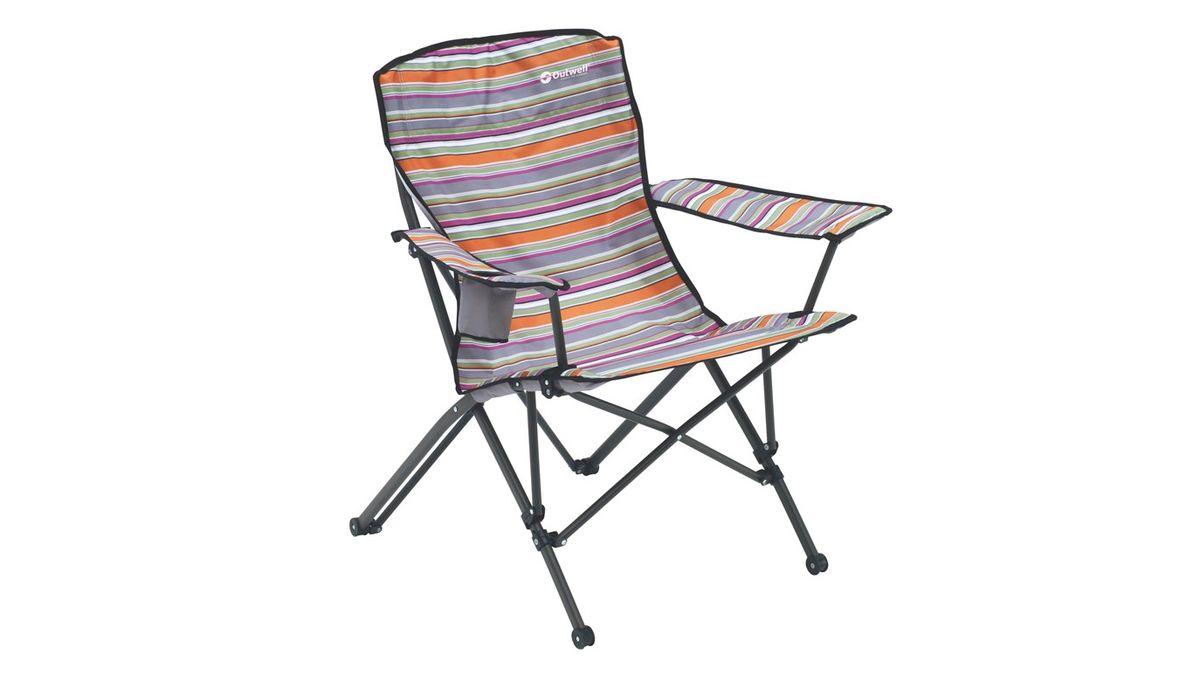 """Кресло складное Outwell """"Rosario Summer"""", цвет: серый, 83 х 55 х 100 см"""