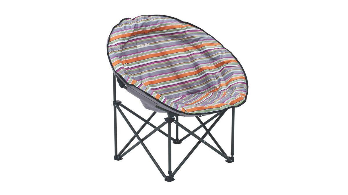 """Кресло складное Outwell """"Trelew Summer"""", цвет: серый, 76 х 65 х 84 см"""