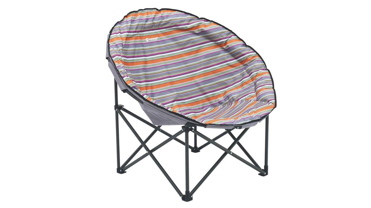 """Кресло складное Outwell """"Trelew XL Summer"""", цвет: серый, 106 х 90 х 95 см"""