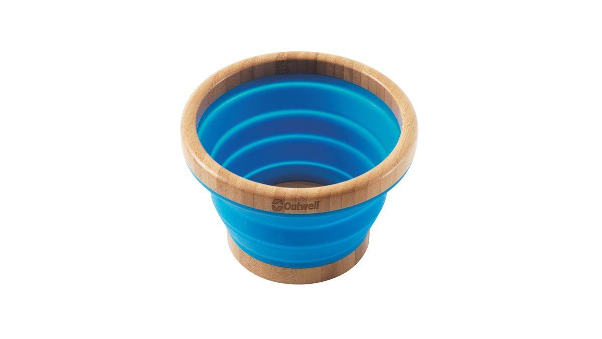 """Миска Outwell """"Collaps Bamboo Bowl M"""", цвет: синий"""