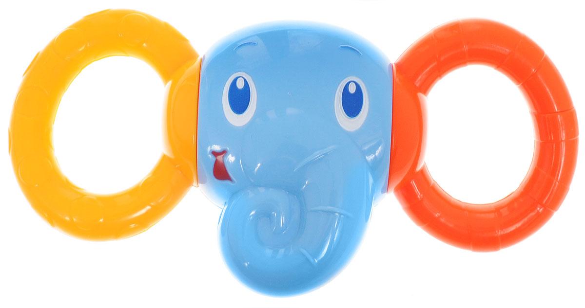 Bright Starts Погремушка Друг-слоненок10226Погремушка Bright Starts Друг-слоненок - это замечательный подарок для поднятия ребенку настроения. Игрушка выполнена в ярком дизайне, что мгновенно привлечет внимание любого малыша. Дизайн игрушки представляет собой погремушку в виде головы слоны с двумя разноцветными колечками, которые издают веселые, звонкие звуки, дарящие малышу веселье и радость. Погремушка отличается своими небольшими размерами, благодаря чему любой ребенок может ее удобно держать в ручках. Игрушка доставит массу удовольствий малышу и создаст ему хорошее настроение. Не содержит Бисфенол А.