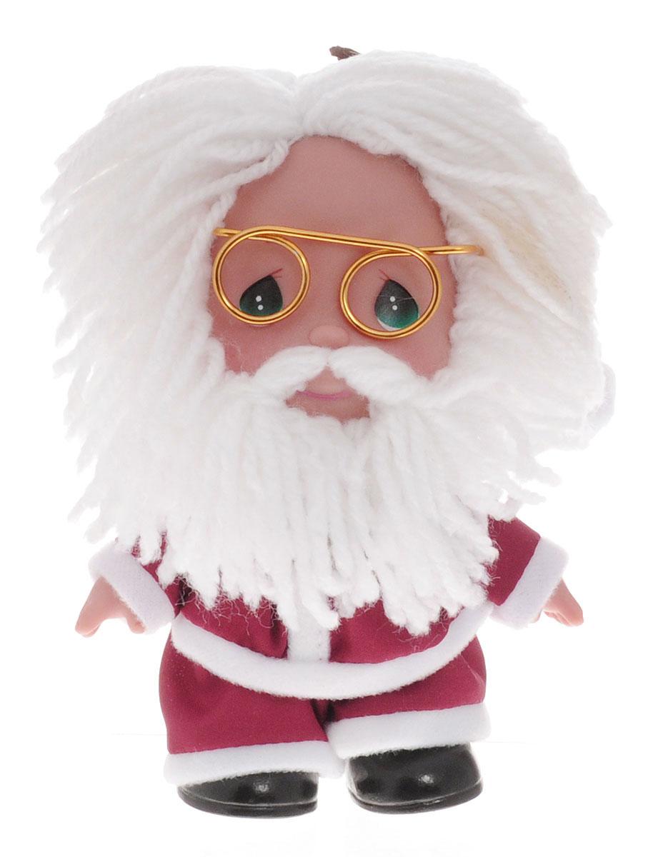 Precious Moments Мини-кукла Санта Клаус5257Какие же милые эти куколки Precious Moments. Создатель этих очаровательных крошек настоящая волшебница - Линда Рик - оживила свои творения, каждая кукла обрела свой милый и неповторимый образ. Эти крошки могут сопровождать вас в чудесных странствиях и сделать каждый момент вашей жизни незабываемым! Мини-кукла Санта Клаус одета в традиционный новогодний костюм. На голове у дедушки - колпак. Образ дополняют очки с золотистой оправой. Волосы и борода у Санта Клауса белые. У куколки большие зеленые глаза. У игрушки подвижные руки и голова. Благодаря играм с куклой, ваша малышка сможет развить фантазию и любознательность, овладеть навыками общения и научиться ответственности. Порадуйте свою принцессу таким прекрасным подарком!
