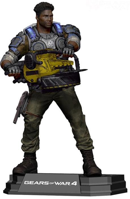 Gears of War 4. Фигурка Del Walker