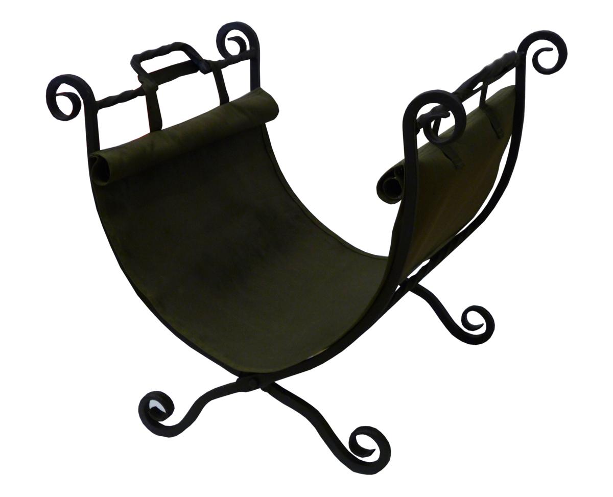 Дровница складная Grillkoff Классика215Складная дровница - «Классика» Складывается и имеет прочную сумку-переноску для дров. Вес: 5,00 кг Данная дровница имеет привычную форму, кроме того она удобно складывается и имеет прочную сумку-переноску для дров. Дровница «Классика» не только украсит интерьер Вашего дома, но и станет отличным подарком соседям или друзьям. Выполнена методом ковки из квадратного прута толщиной 12 мм и покрыта высокотемпературной краской церта.