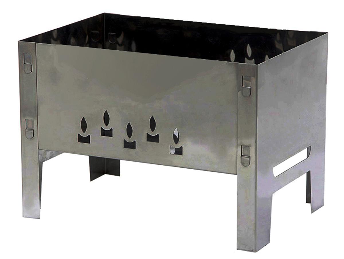 Мангал Grillkoff Восток32Мангал Восток без шампуров. Мангал без усилий собирается для применения. Конструкция позволяет с комфортом готовить на мангале. Материал,из которого изготовлен мангал - сталь.