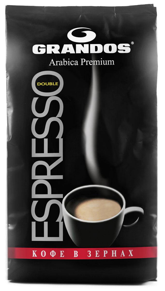 Grandos Double Espresso кофе зерновой, 1 кг4009041103738Насыщенный вкус классического итальянского эспрессо – спелый орех молочной горечи и абрикосовая косточка в основе и дополняет сочный аромат обжаренного сладкого фундука. Grandos Double Espresso – воплощенная классика итальянского кофе, с легкой горчинкой и безудержной энергией. А еще итальянский эспрессо – это бархатистая плотная пенка с золотистым отливом, покрывающая всю поверхность кофе в чашке, и мягкий аромат, заполняющий всю комнату и заставляющий забыть обо всем.