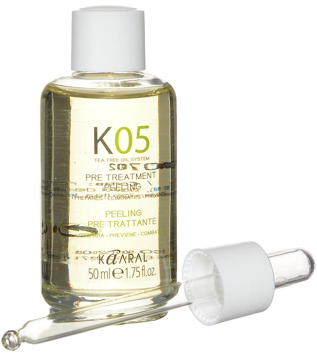 Kaaral Капли для подготовки к процедурам К05 Gocce Pre-Treatment, 50 мл kaaral к05 gocce pre treatment жидкость для волос 50 мл