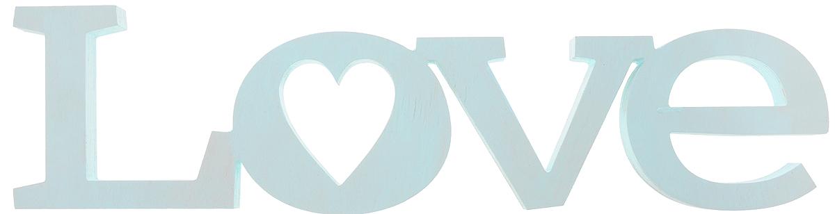 Табличка декоративная Magellanno Love2, цвет: бирюзовый, 56 х 15 смDEC002TДекоративная табличка Magellanno Love2, выполненная из фанеры, идеально подойдет к интерьерам в стиле лофт, прованс, кантри, тем самым украсив любую комнату в вашем доме. А также табличка Оранжевый Слоник Love2 способна дополнить вашу фотосессию в день свадьбы и не только, придав ей оригинальности и смысла. Изделие ручной работы. Размер таблички: 56 х 15 см. Толщина таблички: 1,8 см.
