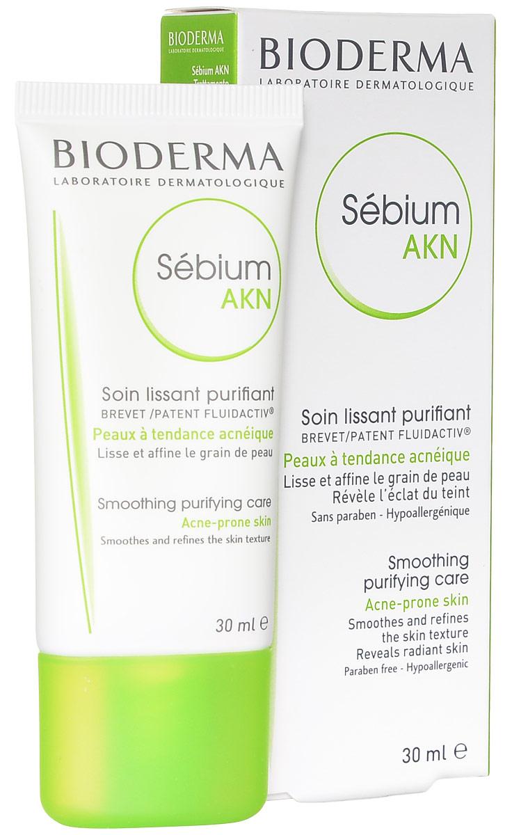 "Bioderma Эмульсия ""Sebium AKN"" для жирной кожи, 30 мл 028652I"