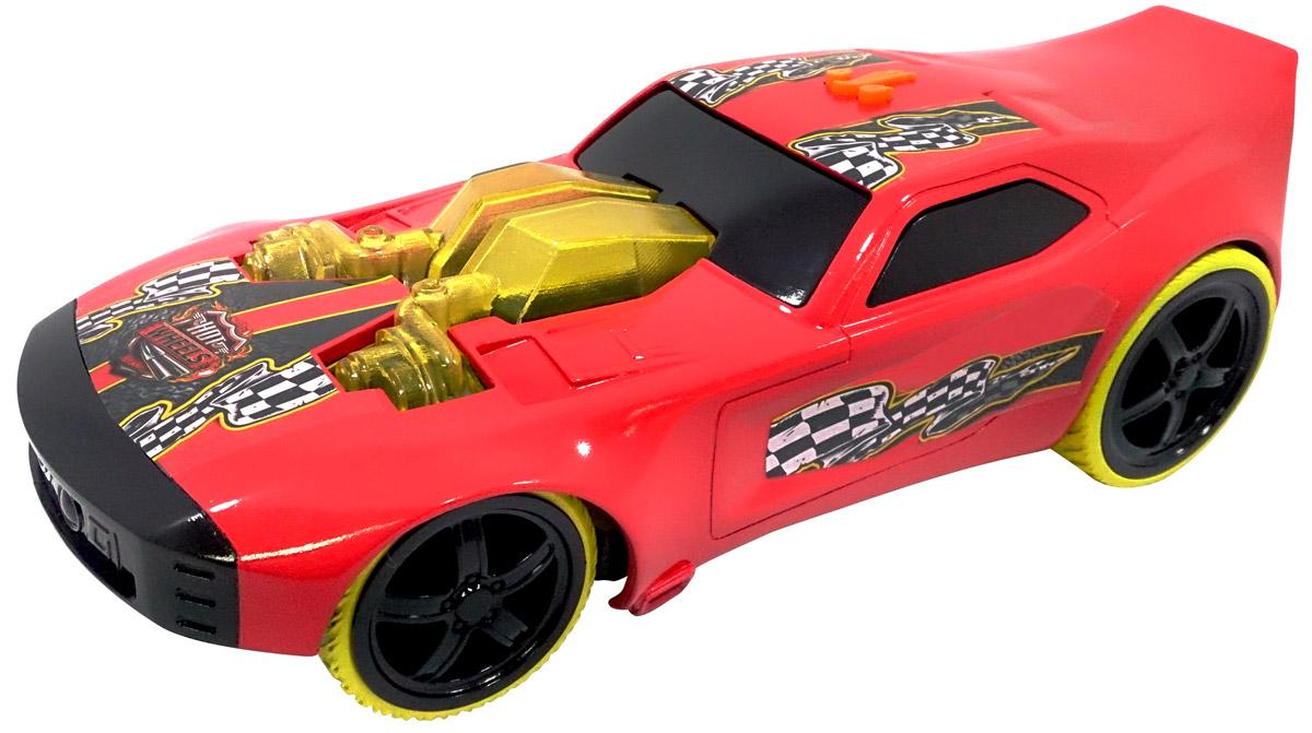 Hot Wheels Машинка Nitro DoorslammerHW91621Машинка Hot Wheels Nitro Doorslammer - отличный подарок для мальчика к любому празднику! У нее агрессивный дизайн с использованием ярких цветов, мощные колеса. Двери, крыша и капот машины декорированы наклейками в виде финишной ленты. Игрушка оснащена световыми и звуковыми эффектами - а значит, игра с ней станет еще более интересной и увлекательной! Машинка выполнена из высококачественных ударопрочных материалов, такая игрушка станет надежной и долговечной. Рекомендуется докупить 3 батарейки напряжением 1,5V типа AG13/LR44 (товар комплектуется демонстрационными).