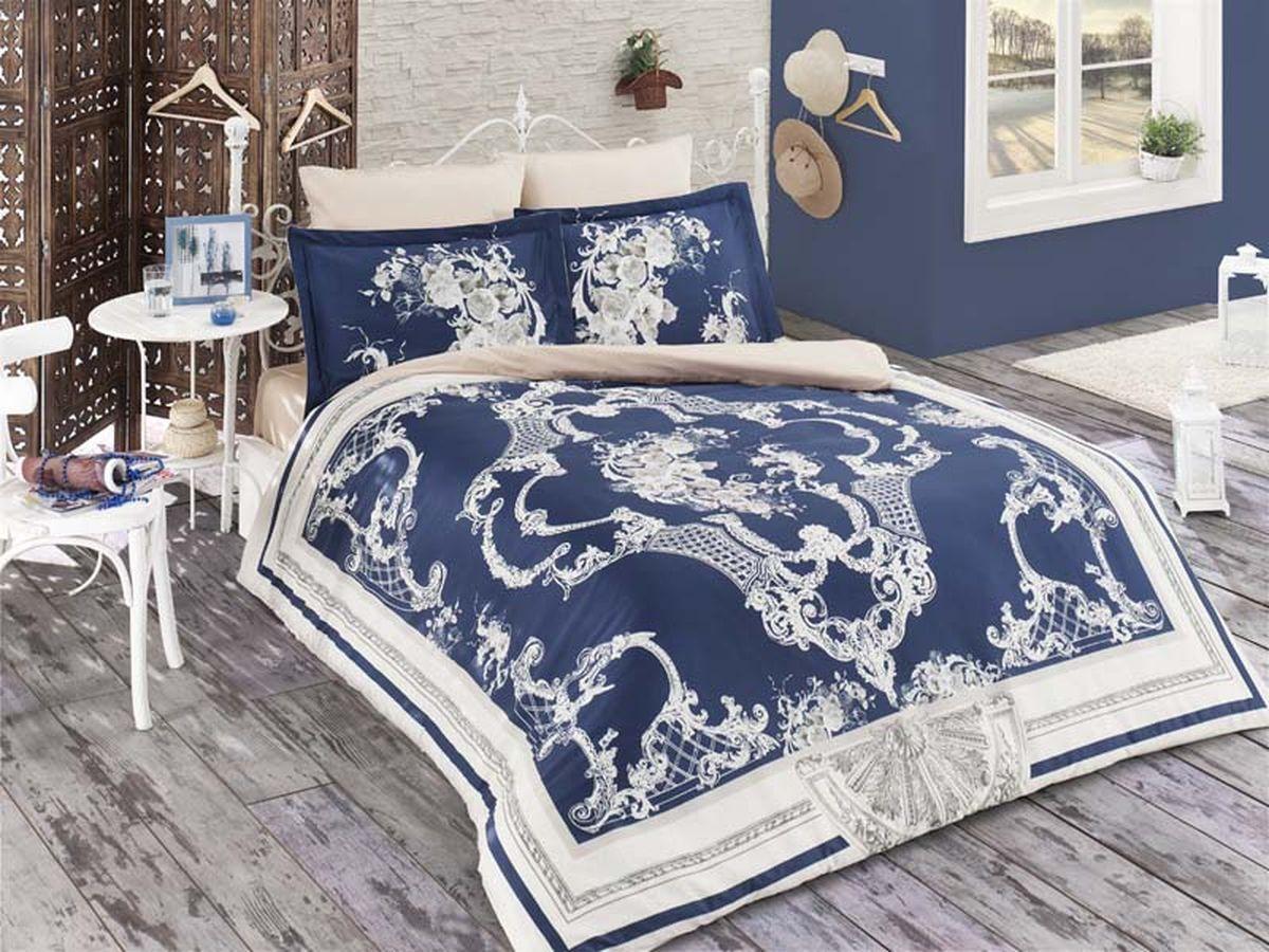 Комплект белья Karna Baron, 2-спальный, наволочки 50х70460/1Постельное белье Карна - истинный подарок от великих мастеров, знающих свое дело. Это красота и роскошь. Это стиль и уют в спальне. Karna - это постельное белье для ценителей красоты и удобства.