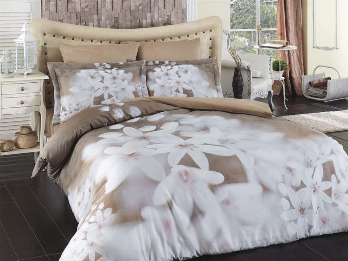 Комплект белья Karna Bahar, 1,5-спальный, наволочки 50х70461/4Постельное белье Карна - истинный подарок от великих мастеров, знающих свое дело. Это красота и роскошь. Это стиль и уют в спальне. Karna - это постельное белье для ценителей красоты и удобства.