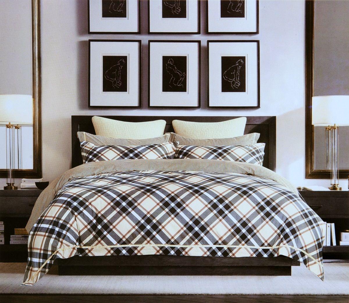 Комплект белья Modalin Tera, 2-спальный, наволочки 50х70, 70x70. 464/5464/5
