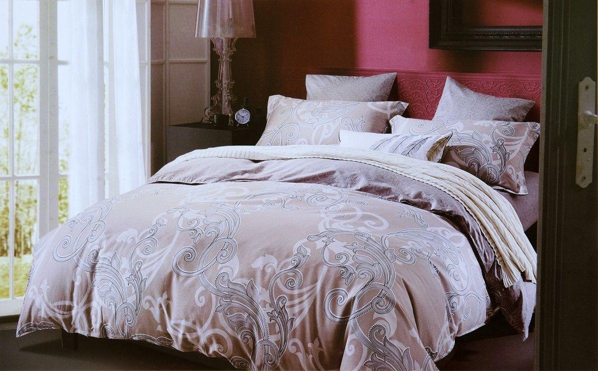 Комплект белья Modalin Vilma, 2-спальный, наволочки 50х70, 70x70. 464/6464/6