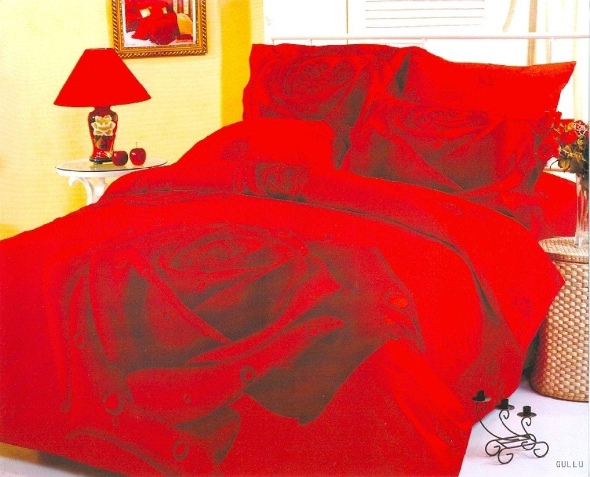Комплект белья Le Vele Gullu, 2-спальный, наволочки 50х70740/10Комплект постельного белья Le Vele Gullu, выполненный из сатина (100% хлопка), создан для комфорта и роскоши. Комплект состоит из пододеяльника, простыни и 4 наволочек. Постельное белье оформлено цветочным рисунком. Пододеяльник застегивается на кнопки, что позволяет одеялу не выпадать из него. Сатин - хлопчатобумажная ткань полотняного переплетения, одна из самых красивых, прочных и приятных телу тканей, изготовленных из натурального волокна. Благодаря своей шелковистости и блеску сатин называют хлопковым шелком.