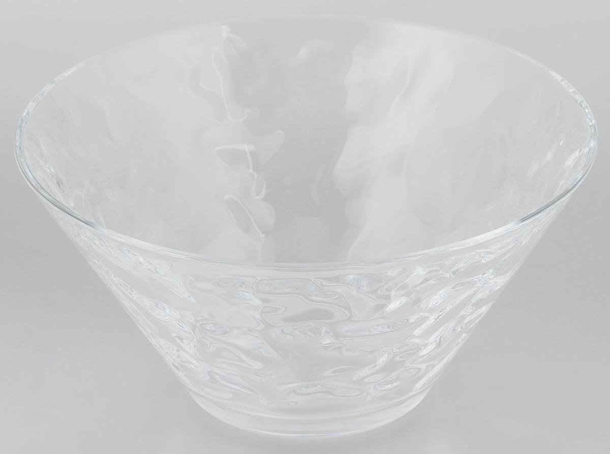 Салатник Pasabahce Grace, диаметр 26 см68118Салатник Pasabahce Grace, выполненный из прозрачного высококачественного натрий-кальций-силикатного стекла, предназначен для красивой сервировки различных блюд. Салатник сочетает в себе лаконичный дизайн с максимальной функциональностью. Оригинальность оформления придется по вкусу и ценителям классики, и тем, кто предпочитает утонченность и изящность. Можно мыть в посудомоечной машине. Диаметр салатника: 26 см. Высота салатника: 13 см.