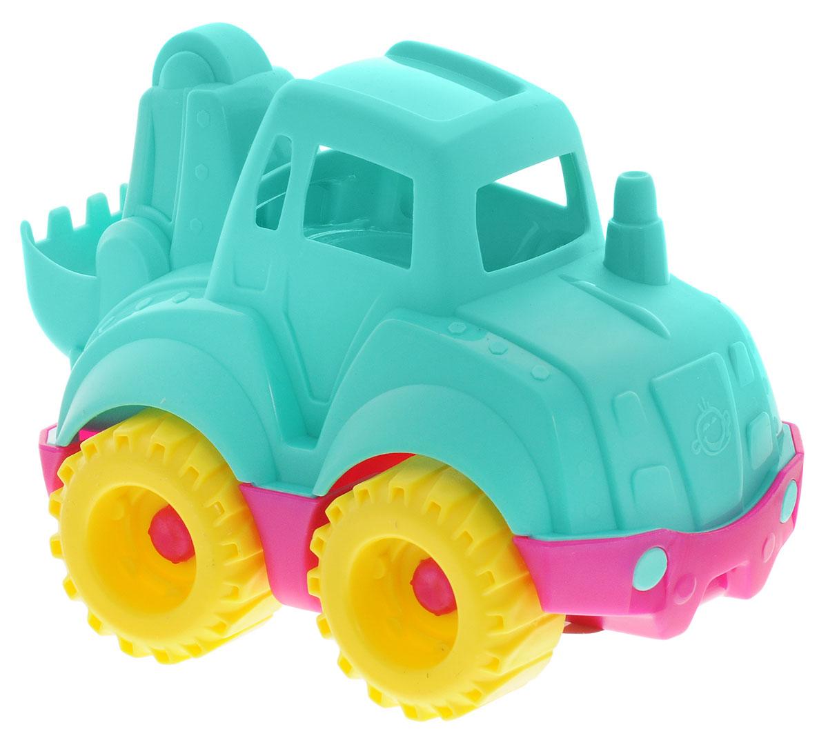 Нордпласт Трактор Шкода цвет бирюзовыйШКД11_бирюзовыйТрактор Нордпласт Шкода - это идеальный выбор для увлекательных игр на свежем воздухе или в помещении. Яркие и приятные цвета игрушки привлекут внимание ребенка. Колеса трактора имеют свободный ход, его можно катать по любой поверхности. Игры с этой машинкой способствуют развитию воображения, мышления, мелкой моторики рук и координации движений. Игрушка изготовлена из нетоксичного и качественного пластика, полностью безопасна для ребенка.