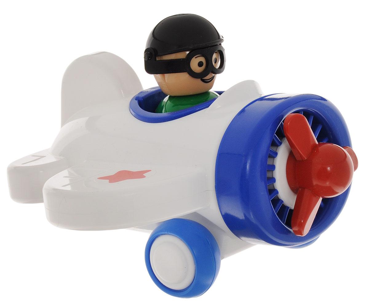 Форма Самолетик Детский садС-123-Ф_белыйСамолетик Форма Детский сад - это занимательная игрушка для мальчика. Игрушечный самолет с вращающимися колесами и пропеллером выполнен из качественного и безопасного материала. Колеса самолета имеют свободный ход, благодаря чему его можно пускать по полу кататься. В кабине самолета находится съемная фигурка пилота.