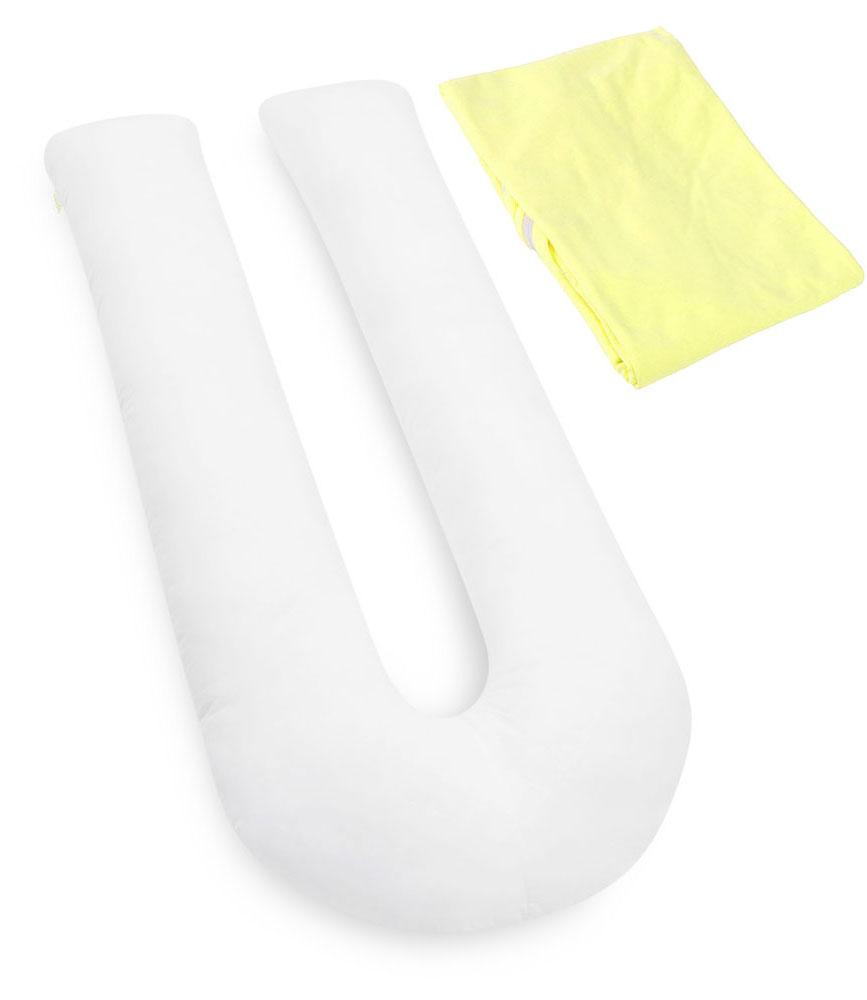 БИО-Подушка для беременных U maxi, чехол: желтый