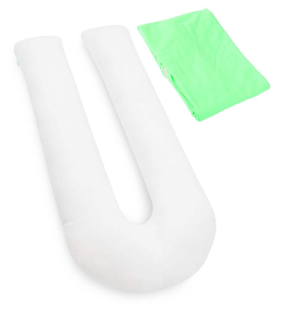 БИО-Подушка для беременных U maxi, чехол: зеленый