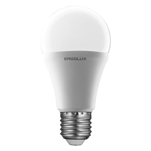 Лампа светодиодная Ergolux LED-A60-12W-E27-4K, холодный свет, 12 Вт12151Светодиодные лампы Ergolux - новое решение в светотехнике. Светодиодная лампа экономит много электроэнергии благодаря низкой потребляемой мощности. Они идеальны для основного и акцентного освещения интерьеров, витрин, декоративной подсветки. Кроме того, они создают уютную атмосферу и позволяют экономить электроэнергию уже с первого дня использования.
