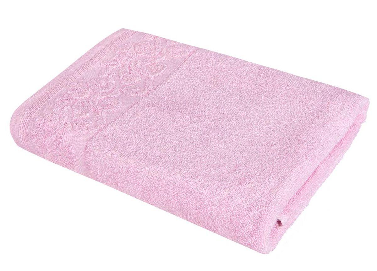 Полотенце Soavita Белла, цвет: розовый, 68 х 135 см86266Махровое полотенце Soavita Белла выполнено из хлопка. Полотенца используются для протирки различных поверхностей, также широко применяются в быту. Перед использованием постирать при температуре не выше 40 градусов. Размер полотенца: 68 х 135 см.