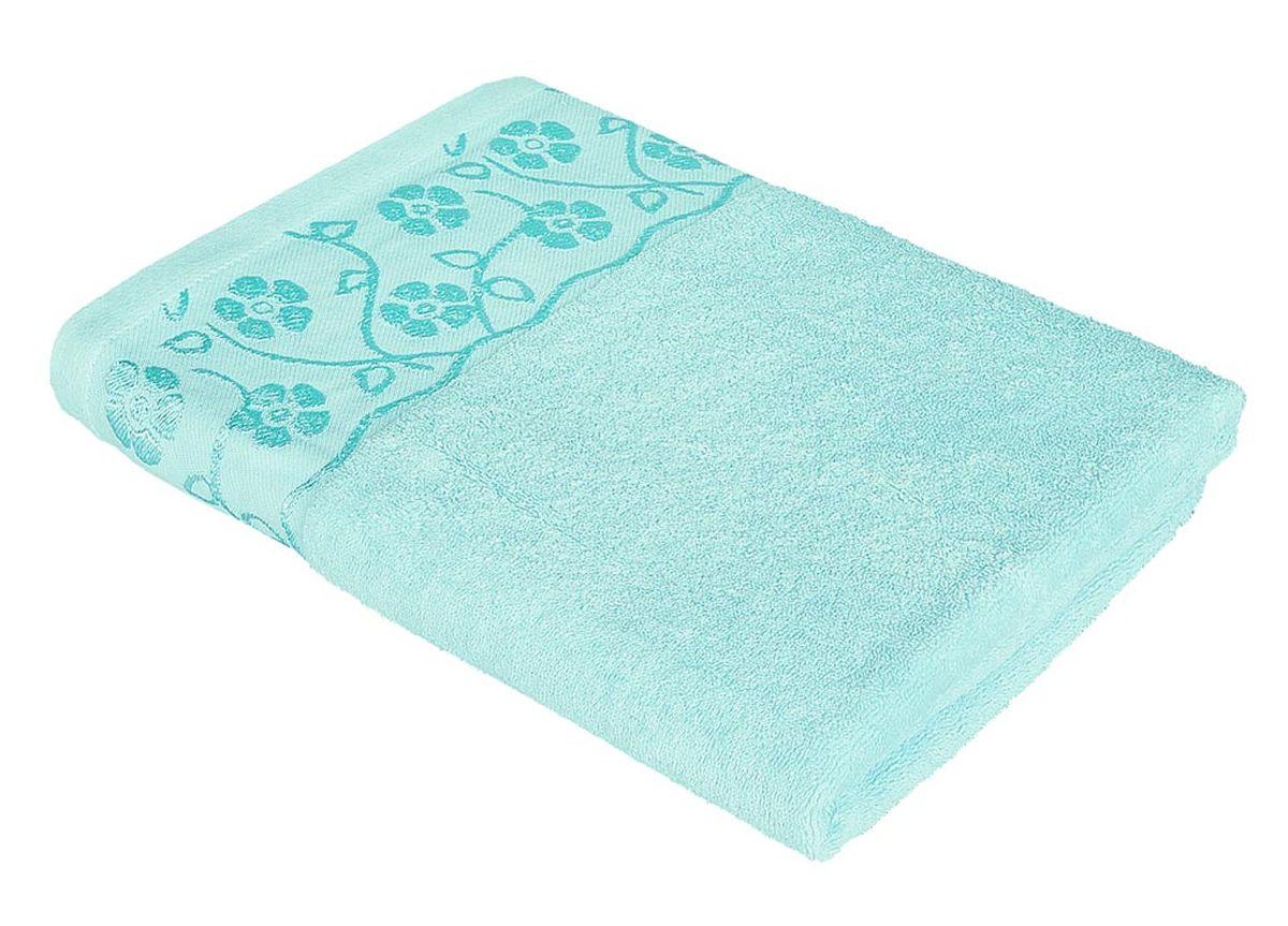 Полотенце Soavita Ванесса, цвет: бирюзовый, 68 х 135 см86281Махровое полотенце Soavita Ванесса выполнено из хлопка. Полотенца используются для протирки различных поверхностей, также широко применяются в быту. Перед использованием постирать при температуре не выше 40 градусов. Размер полотенца: 68 х 135 см.