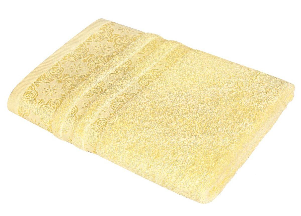 Полотенце Soavita Орнамент, цвет: желтый, 48 х 90 см86284Махровое полотенце Soavita Орнамент выполнено из хлопка. Полотенца используются для протирки различных поверхностей, также широко применяются в быту. Перед использованием постирать при температуре не выше 40 градусов. Размер полотенца: 48 х 90 см.