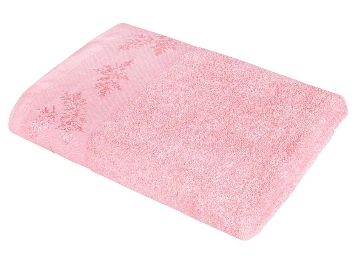 Полотенце Soavita Катрин, цвет: розовый, 68 х 135 см86295Махровое полотенце Soavita Катрин выполнено из хлопка. Полотенца используются для протирки различных поверхностей, также широко применяются в быту. Перед использованием постирать при температуре не выше 40 градусов. Размер полотенца: 68 х 135 см.