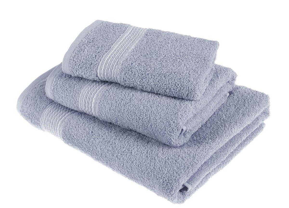 Набор полотенец Тако Текстиль, цвет: серый, 3 шт. 8817588175Перед использованием постирать при температуре не выше 40 градусов