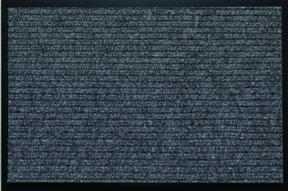 Коврик влаговпитывающий SunStep Ребристый, цвет: серый, 90 х 150 см35-071Коврик влаговпитывающий Ребристый 90х150 см, серый, SUNSTEP™