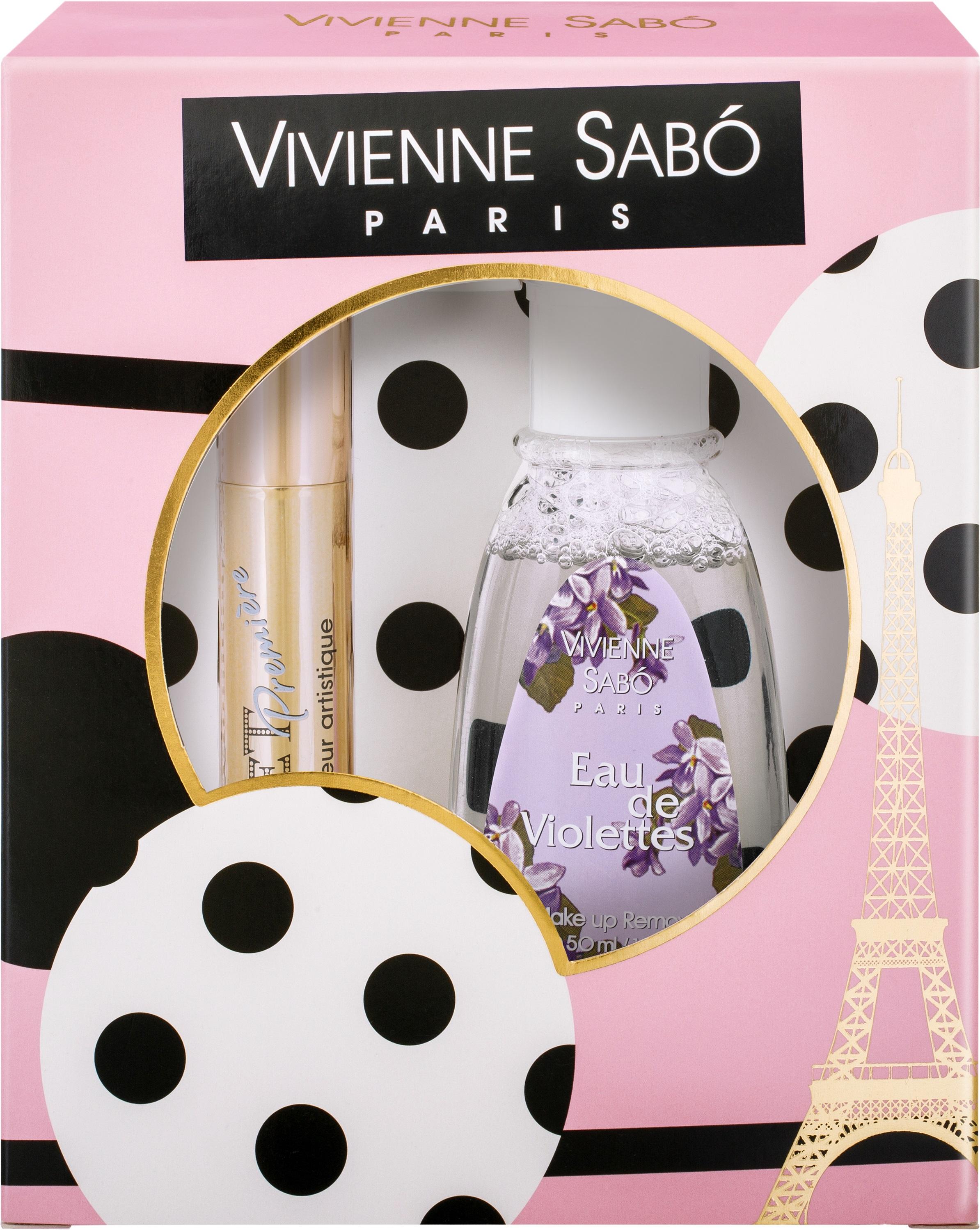Vivienne Sabo Подарочный набор Тушь Cabaret premiere т. 01 и Жидкость для снятия макияжа