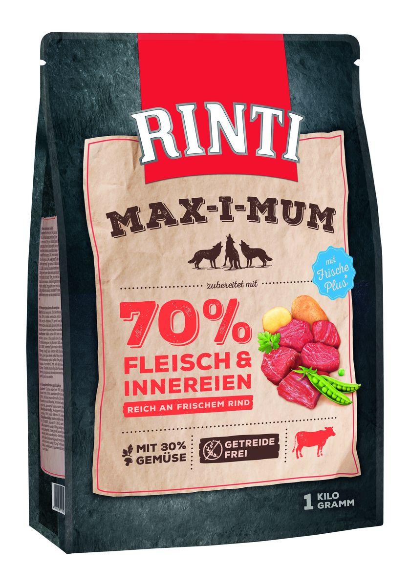 Корм сухой для собак Schmusy Ринти Макс-и-мум, с говядиной, 1 кг91161Сухой беззерновой корм Ринти Макс-и-мум - это максимум свежего мяса для вашей собаки. 70% мяса в составе, из которых 90% - это свежее мясо. Это полноценная еда для собак с добавлением 30% овощей. Сухой корм Ринти богат содержанием отборного мяса, потому что собаки - это настоящие хищники и нуждаются в пище, богатой белками. Кроме свежего мяса и овощей в состав входят пивные дрожжи, которые укрепляют имунную систему животных. Также добавлен рыбий жир для правильного развития организма. Состав: Свежая говядина (минимум 35%), свежее мясо курицы (минимум 30%), картофельный крахмал, гидролизированное мясо - 3%, мясная мука - 2%, сушёный горох, белок картофельный, оболочка семян подорожника, рыбий жир, пивные дрожжи, морковь сушёная.