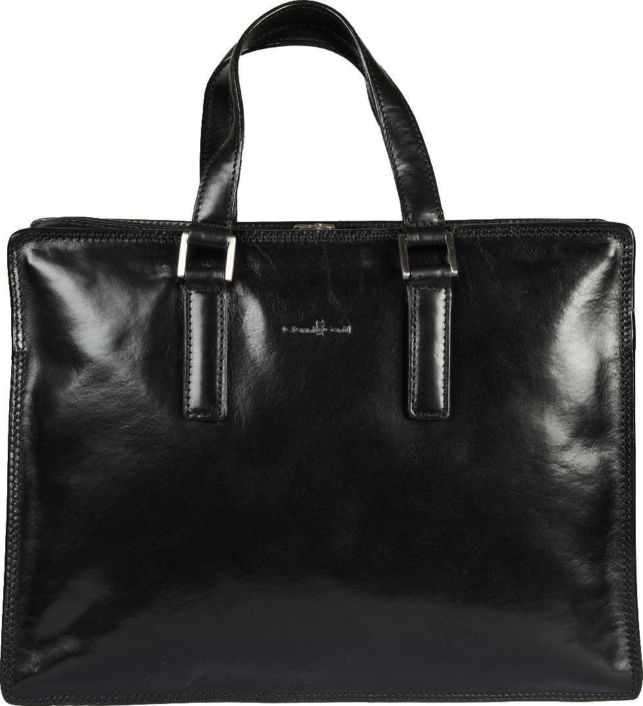 Портфель женский Gianni Conti, цвет: черный. 901248