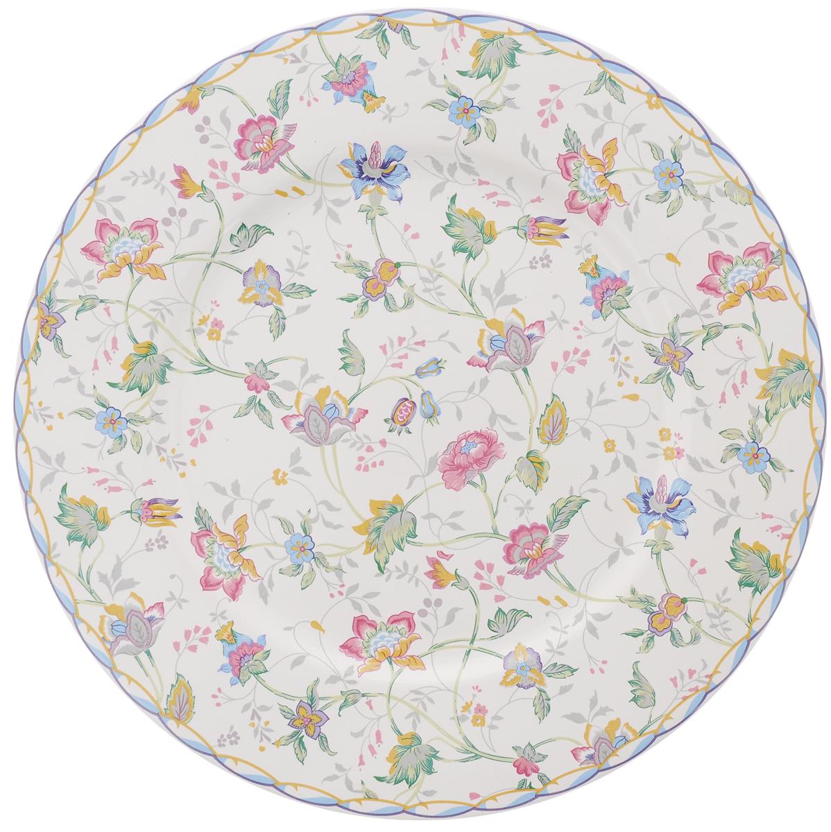 Тарелка House & Holder, диаметр 23 смLUNA09-1109/1Тарелка House & Holder сочетает в себе изысканный дизайн с максимальной функциональностью. Красочность оформления придется по вкусу и ценителям классики, и тем, кто предпочитает утонченность и изысканность. Тарелка выполнена из фаянса. Оригинальный рисунок придает набору особый шарм, который понравится каждому. Диаметр тарелки: 23 см.
