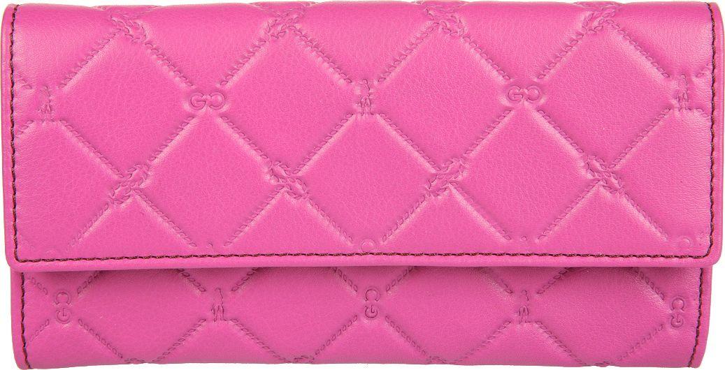 Портмоне женское Gianni Conti, цвет: розовый. 35882633588263закрывается клапаном на кнопке внутри два отдела для купюр два кармана для документов двеннадцать кармашков для пластиковых карт снаружи, на задней стенке, карман для монет на молнии