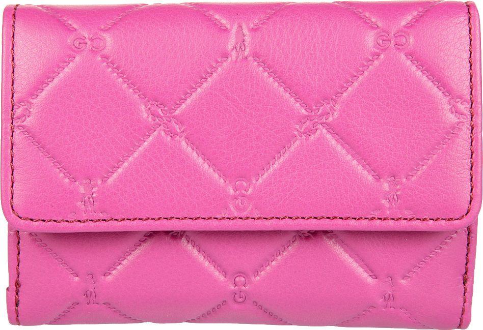 Портмоне женское Gianni Conti, цвет: розовый. 35882613588261закрывается клапаном на кнопке внутри два отдела для купюр три дополнительных кармашка восемь кармашков для пластиковых карт двойное отделение для монет на молнии снаружи, на задней стенке, карман