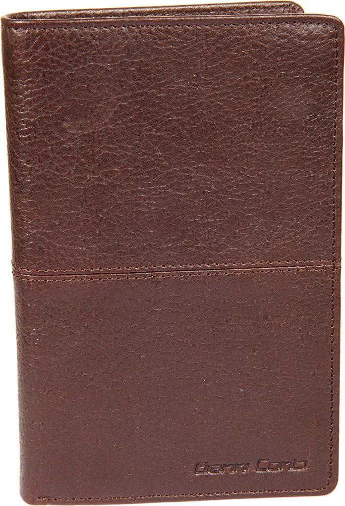 Портмоне мужское Gianni Conti, цвет: темно-коричневый. 11380281138028 dark brownраскладывается пополам внутри два отдела для купюр сетчатый карман шестнадцать кармашков для пластиковых карт отделение для мелочи на молнии три кармана для документов потайной карман