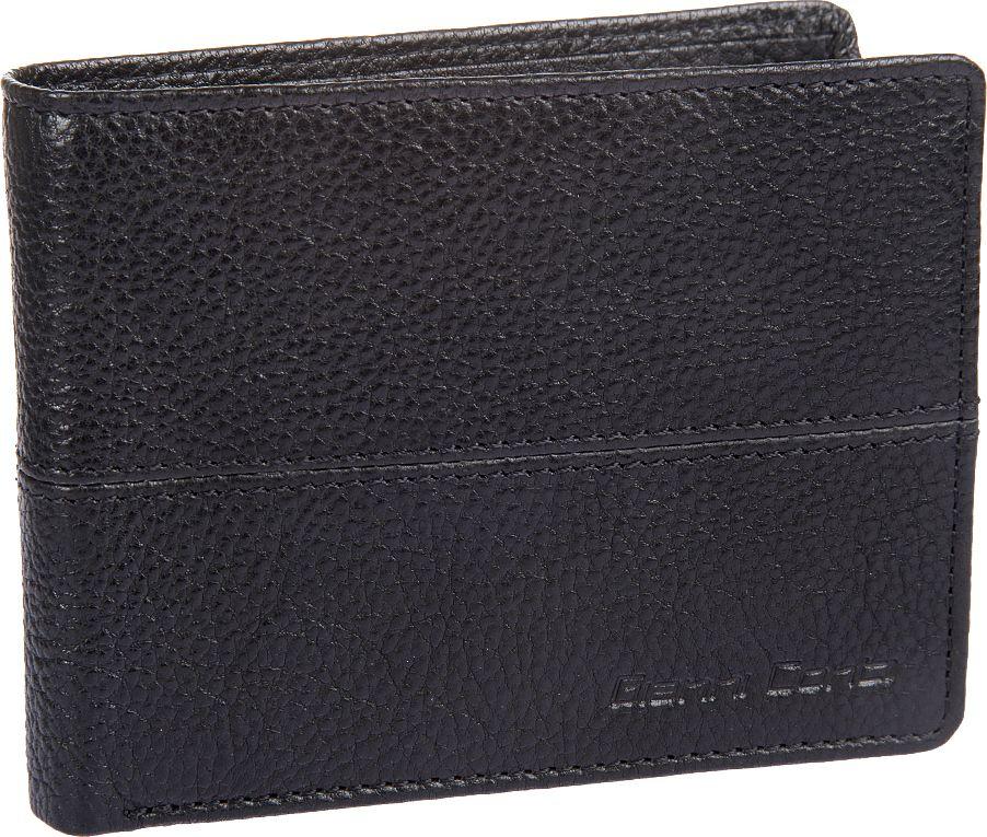 Портмоне мужское Gianni Conti, цвет: черный. 1137144E1137144E blackраскладывается пополам внутри два отдела для купюр карман для мелочи закрывается клапаном на кнопке сетчатый карман восемь кармашков для пластиковых карт потайной карман