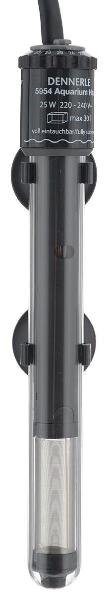 Нагреватель-терморегулятор Dennerle Nano Heater, 25 ВтDEN5954Нагреватель-терморегулятор Dennerle Nano Heater обеспечивает высокую точность поддержания заданной температуры. Полностью погружной. Ударопрочная колба обеспечивает нагревателю долгий срок эксплуатации. Сверху имеется циферблат значения температуры. Крепится при помощи двух присосок. Мощность: 25 Вт. Температура: 18-34°С. Рекомендуемый объем аквариума: 10-30 л. Напряжение: 220-240В. Длина нагревателя: 23 см.