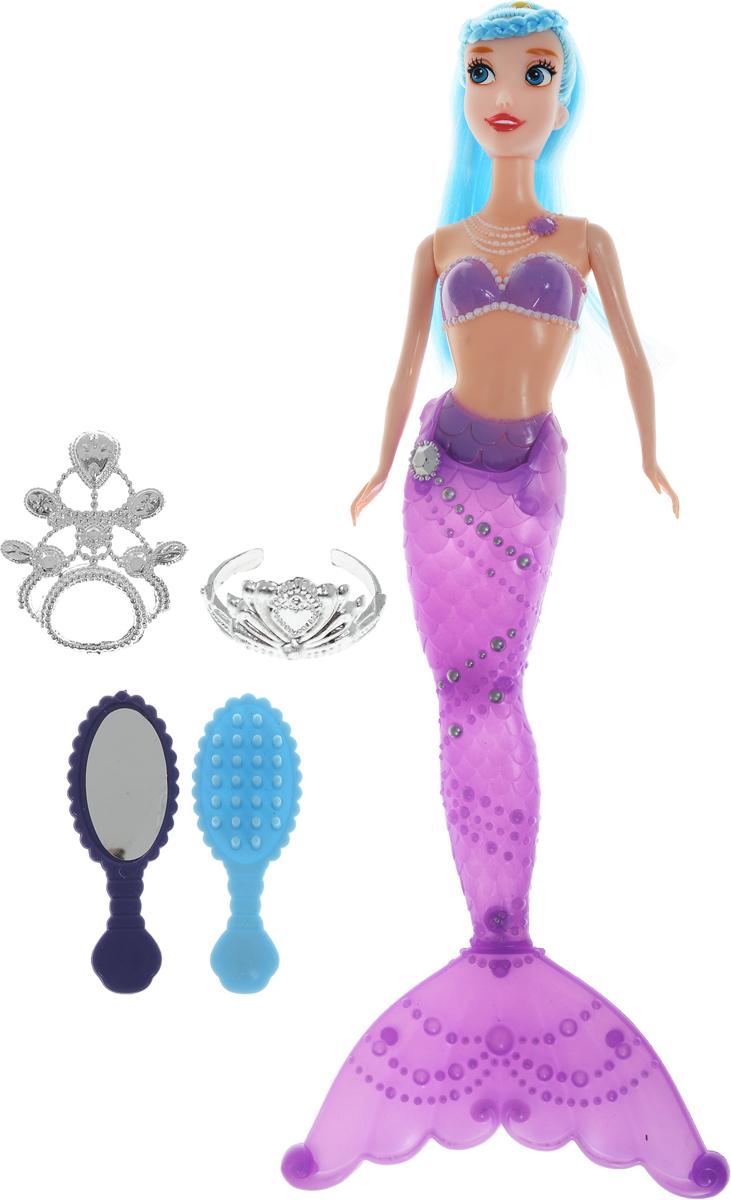 Shantou Кукла Русалка цвет фиолетовый голубой