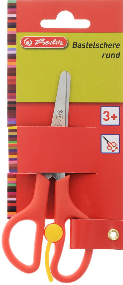 Herlitz Ножницы детские цвет красный 13 см8740052_красныйДетские ножницы Herlitz с закругленными концами отлично подойдут для детского творчества или рукоделия. Лезвия выполнены из нержавеющей стали и снабжены сантиметровой шкалой. Пластиковые ручки имеют эргономичную форму. Оснащены вспомогательной пружинкой, которая самостоятельно раскрывает ножницы во время работы, что облегчает вырезание и снижает усталость руки ребенка. Предназначены для детей в возрасте от трех лет.