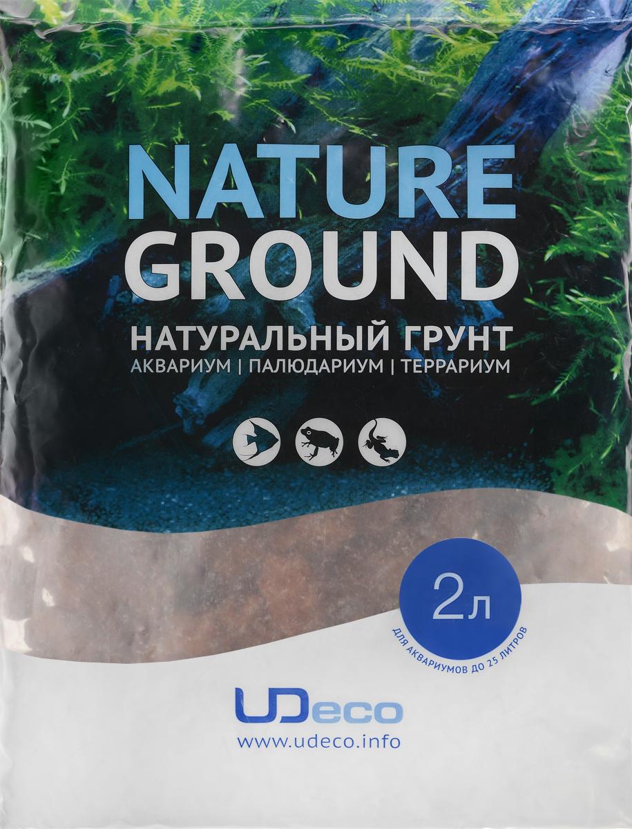 Грунт для аквариума UDeco Лавовая крошка, натуральный, 15-40 мм, 2 лUDC425092Натуральный грунт UDeco Лавовая крошка предназначен специально для оформления аквариумов, палюдариумов и террариумов. Изделие готово к применению. Грунт UDeco порадует начинающих любителей природы и самых придирчивых дизайнеров, стремящихся к созданию нового, оригинального. Такая декорация придутся по вкусу и обитателям аквариумов и террариумов, которые ещё больше приблизятся к природной среде обитания. Необходимое количество грунта рассчитывается по формуле: длина аквариума х ширина аквариума х толщина слоя грунта. Предназначен для аквариумов от 25 литров. Фракция: 15-40 мм. Объем: 2 л.