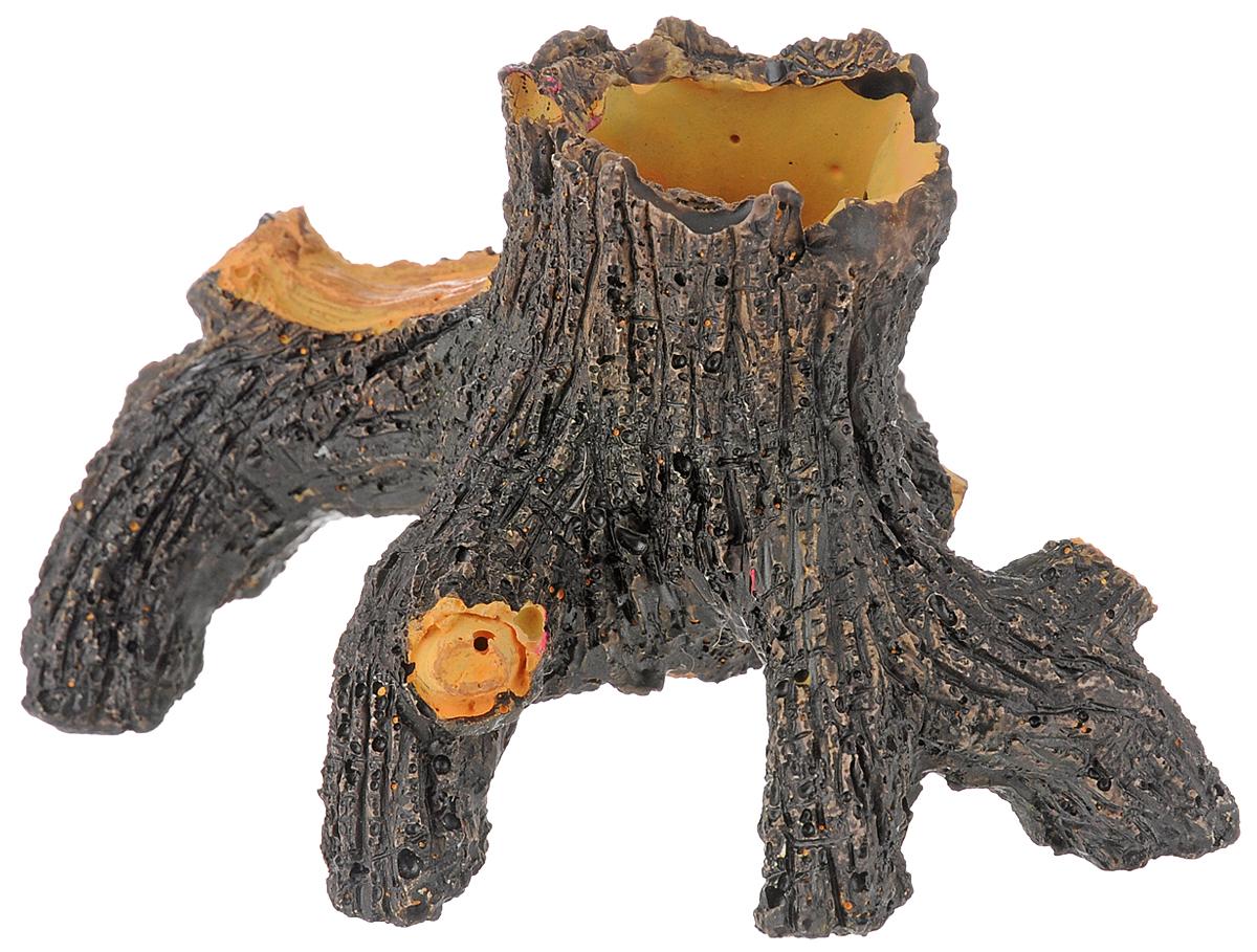 Декорация для аквариума Dennerle Nano Decor Oak Wood, 14 х 10 х 7,5 смDEN5848Декорация Dennerle Nano Decor Oak Wood, выполненная из высококачественной керамики, станет прекрасным украшением вашего аквариума. Декорация нейтральна к воде, безопасна для всех видов рыб. Способствует сокращению стрессовых ситуаций, предоставляя укрытие и возможность покидать его, а также проявлению естественного поведения. Для создания природного эффекта можно обмотать мхом.