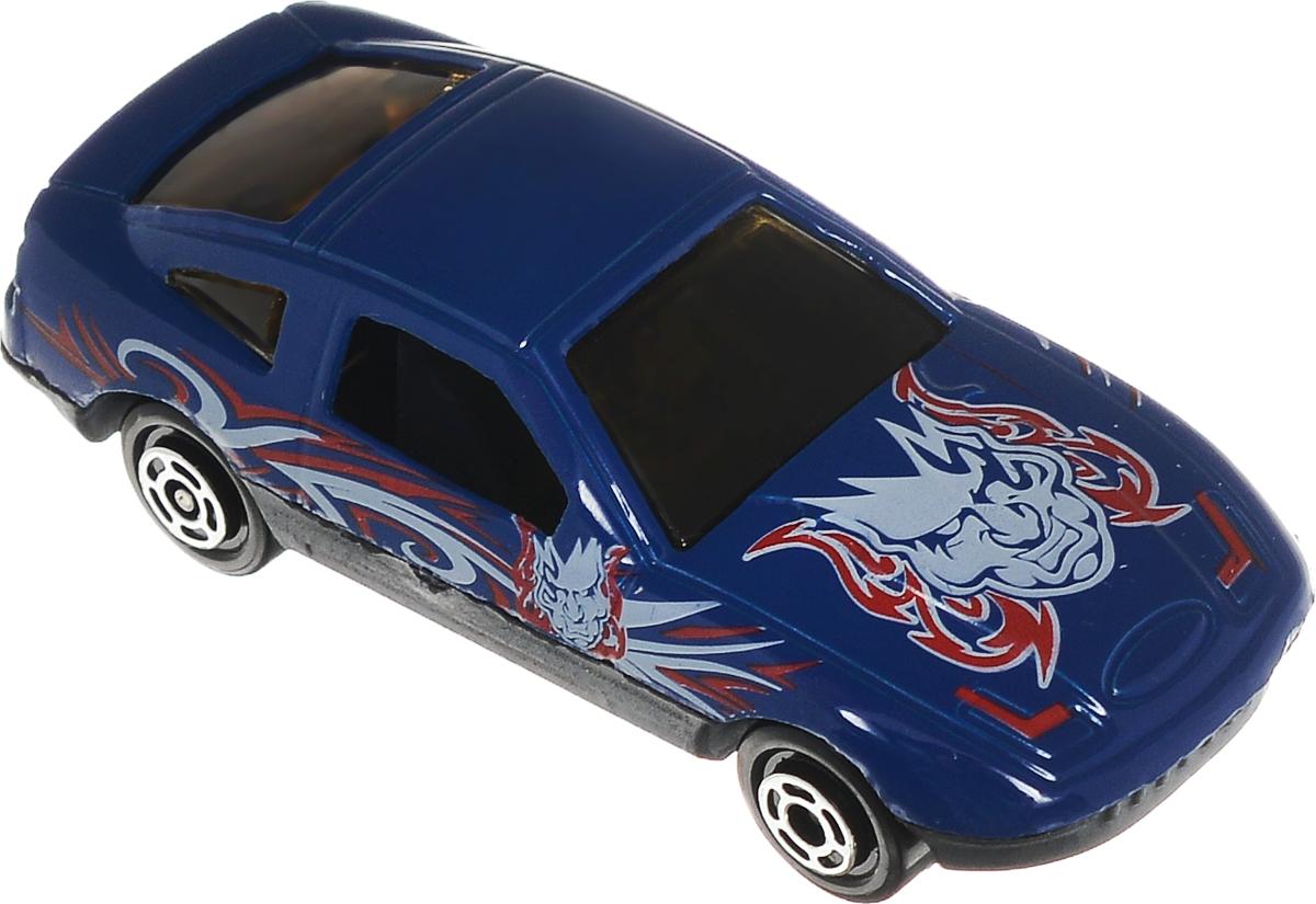 Big Motors Машинка цвет синий белый красныйJP632_синий, белый, красныйМашинка Big Motors непременно приведет в восторг вашего малыша. Игрушка изготовлена из металла с пластиковыми элементами. Колесики машинки имеют свободный ход. Ваш ребенок будет увлеченно играть с этой машинкой, придумывая различные истории. Порадуйте его таким замечательным подарком.