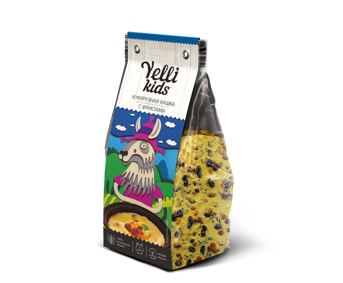 Наши дети - это маленькие исследователи. Мы хотим, чтобы они были здоровы, радовались жизни, делали новые открытия! Yelli Kids помогает открывать новые вкусы, заботится о здоровье малышей и экономит время родителей. В основе кукурузной каши с фруктами – полента, мелкая кукурузная крупа ярко-желтого цвета. Каша быстро готовится, получается нежной, вкусной и сладкой, что так нравится детям! Легенда Лама Камилла живет в солнечной стране Аргентине. Она любит солнце, поэтому каждый год высаживает целое поле кукурузы. За лето кукуруза наполняется солнечными лучами и становится желтой. А осенью, когда солнце греет не так ярко, Камилла собирает урожай и готовит свою любимую кукурузную кашу. Такую вкусную и теплую, как летнее солнце.