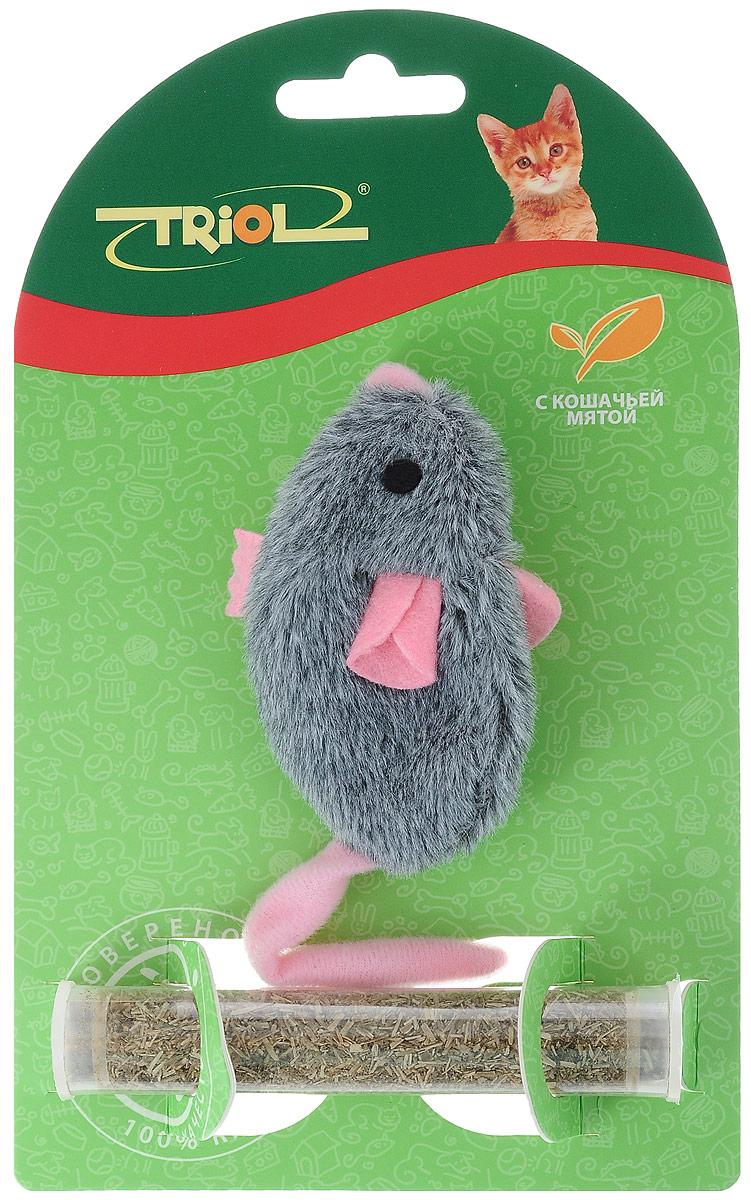 Игрушка для кошек Triol Плюшевая мышка, с кошачьей мятой, цвет: серый, розовый, длина 8 смTT-25Мягкая игрушка Triol Плюшевая мышка изготовлена из полиэстера. Играя с этой забавной игрушкой, маленькие котята развиваются физически, а взрослые кошки и коты поддерживают свой мышечный тонус. Изделие выполнено в виде мыши. В качестве наполнителя выступает кошачья мята. Кошачья мята - растение, запах которого делает кошку более игривой и любопытной. С помощью этого средства кошка легче перенесет путешествие на автомобиле, посещение ветеринарного врача, переезд на новую квартиру. Длина игрушки: 8 см.