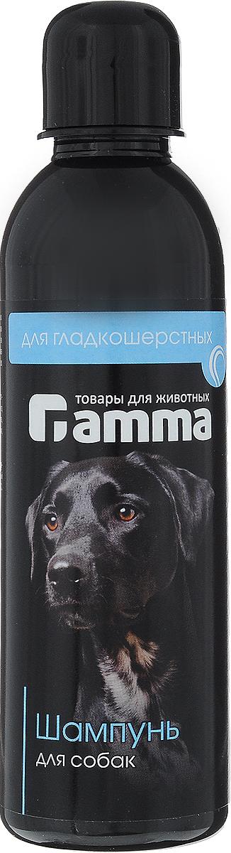 Шампунь Гамма!, для гладкошерстных собак, 250 млШг-10300Шампунь Гамма! предназначен для собак гладкошерстных пород. Шампунь содержит высококачественные моющие компоненты , кондиционирующие добавки, витамины групп А,В, Е, природные воска. Применение шампуня способствует оздоровлению шерстного покрова собак, появлению необыкновенного блеска и правильной укладки шерсти, препятствует несезонной линьке. Товар сертифицирован.